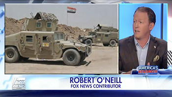 Rob O'Neill on America's Newsroom