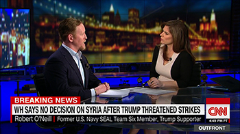 Rob O'Neill on Out Front with Erin Burnett