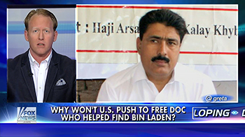"Life on the Line: Doctor Who Helped Us Get bin Laden ""Rotting"" in Prison"
