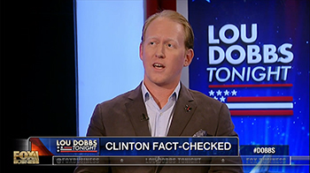 Rob O'Neill on Lou Dobbs Tonight
